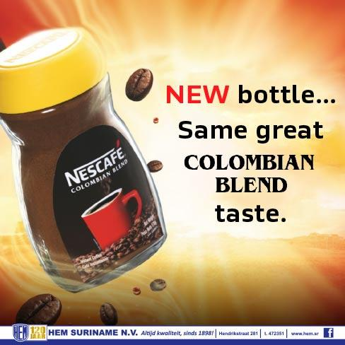 Nescafe Colombian Blend