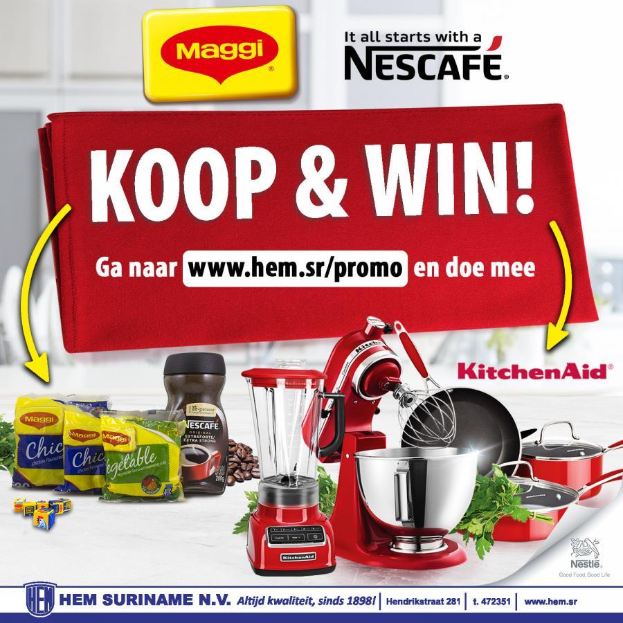 KOOP & WIN met Maggi en Nescafé