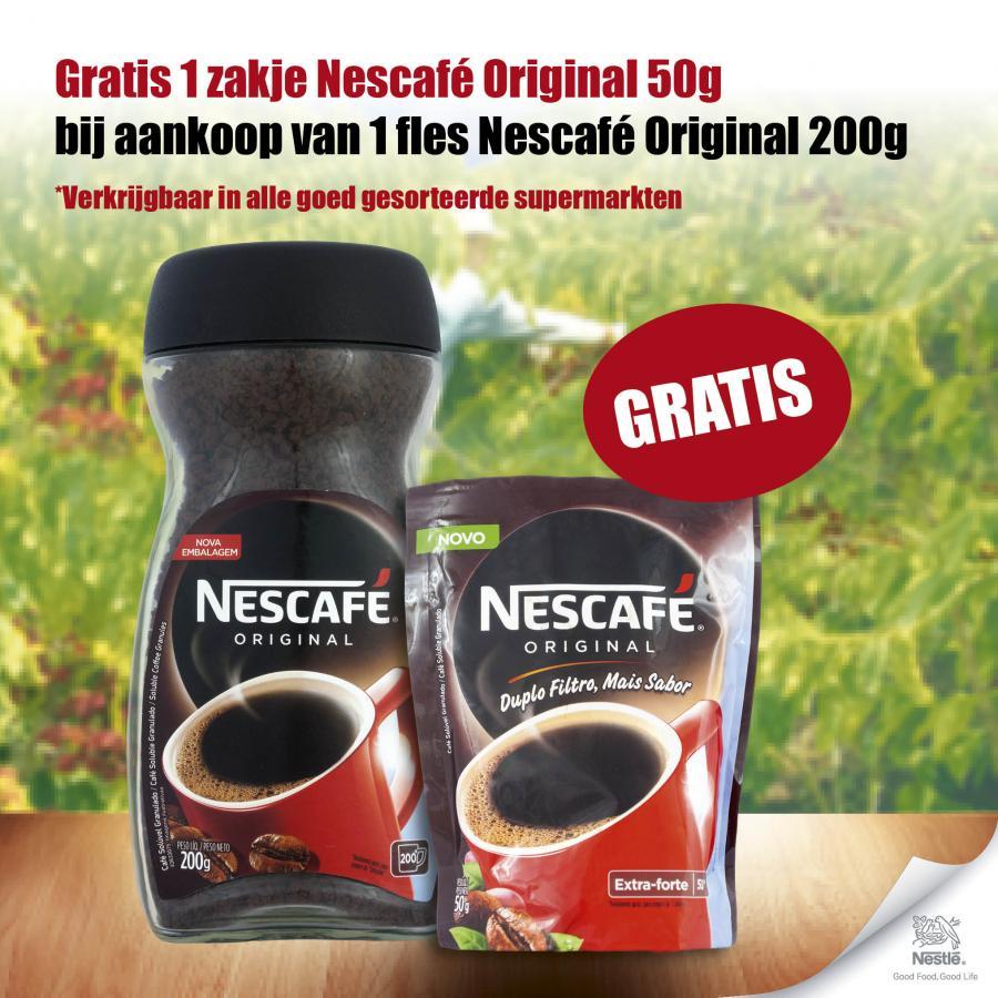 Nescafé Original actie