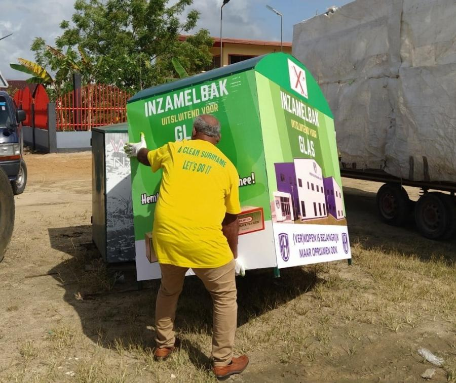 Support Recycling Suriname